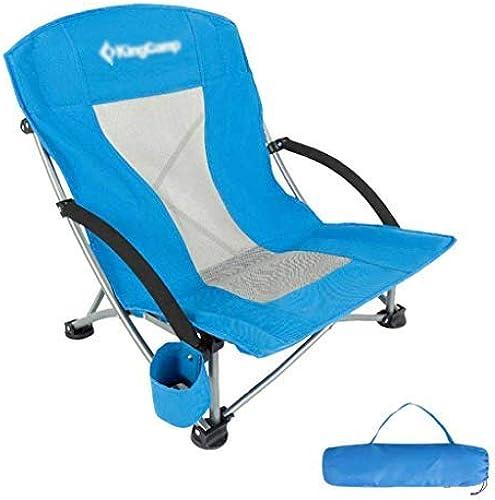 BAIF Pliage CHAISES DE Peche Beach Chair Seat, Extérieur Ultra-léger en Alliage d'aluminium Camping Jardin Loisirs Pique-Nique Voyage Randonnée Festivals Pêche