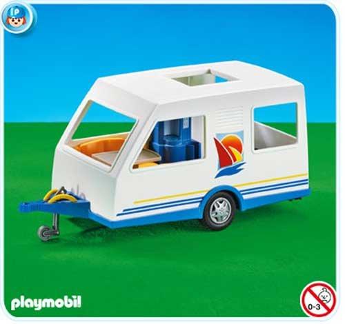 Playmobil 7503 Caravan Anhänger (Folienverpackung)