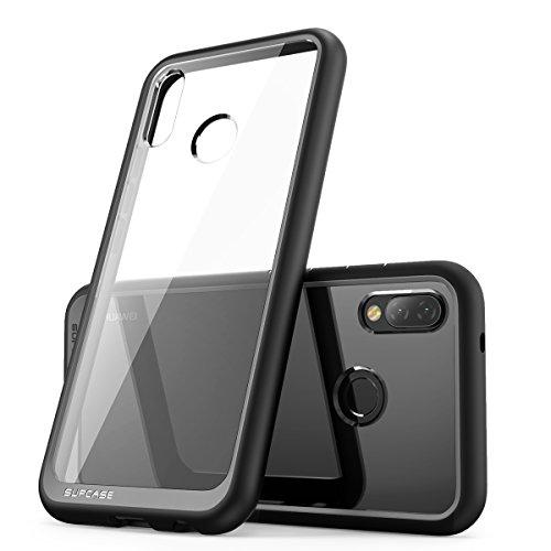 SupCase Huawei P20 Lite Hülle, Premium Handyhülle Hybrid Case Transparent Schutzhülle Backcover [Unicorn Beetle Style] für Huawei P20 Lite 2018 (Schwarz)