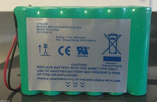 DSC IMPASSA 9057 Battery 6PH-H-4/3A3600-S-D22 7.2 V 3600mAh, 2015