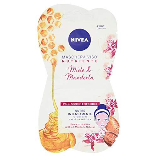 NIVEA Maschera nutriente intensiva mono.15 ml.84723 - Crèmes et masques visage