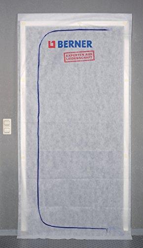Berner 219321 Staubschutztür, Weiß