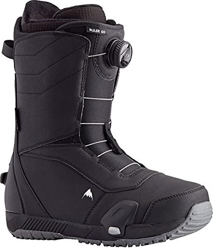 BURTON Step On Ruler Mens Snowboard Boots Sz 10.5 Black
