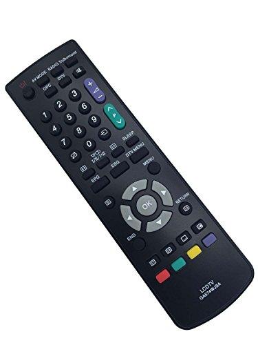Vinabty reemplazado control remoto del televisor GA574WJSA para Sharp LC32LE600E LC32LE700E LC32LE705E LC32LU700E 010240 LC32AD5E GA574WJSA GA591WJSA GA574WJSA for LC40LE600E LC40LE700E LC40LE705E LC40LU700E
