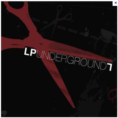 Linkin Park Underground 7 Fan Club (Box Set with Best of Projekt Revolution 2007 Live Recordings, Large T-Shirt, Shoelaces, Newsletter, Keychain and Sticker Pack) [Box set, Limited Edition]