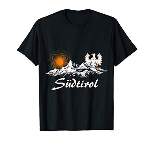 Südtirol T-Shirt mit Berge und Adler T-Shirt