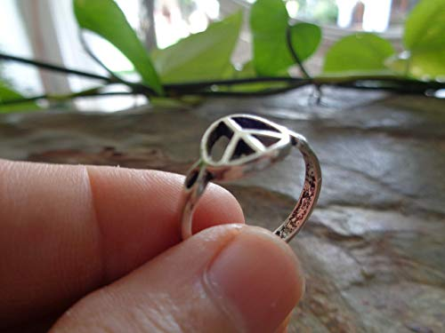 ✿ ROBUSTER PEACE RING ✿ bohemian Statement Ring,