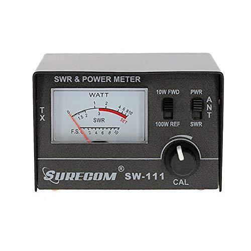 Mcbazel Surecom SW-111 100 Watt SWR/Medidor de Potencia para CB Radio Antenna