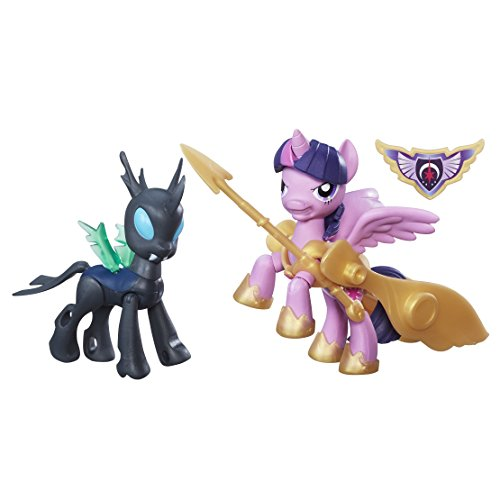 My Little Pony Guardian of Armony Figures Pack, Princess Twilight Sparkle & Changeling Solid