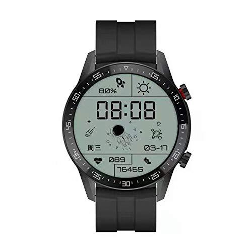 Astronautas Smartwatch Entache IP68 Pulsera conectada Deporte Hombre SK7 Pantalla Táctil Fitness Tracker Cardio/Sueño/Podómetro Reloj Inteligente para Android / iOS (Negro)