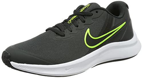 Nike Star Runner 3 (Gs) Sneaker, Dk Smoke Grey/Black-Black, 36.5 EU