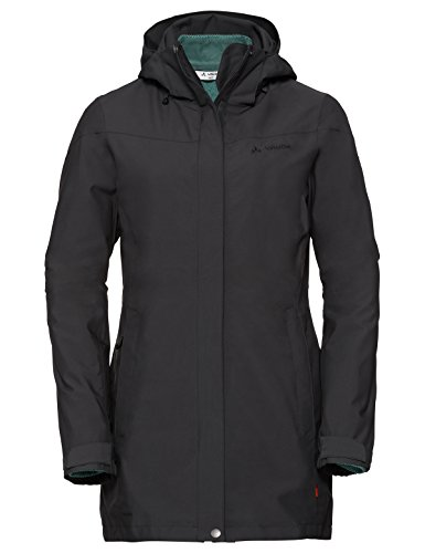 VAUDE Damen Doppeljacke Idris 3in1 Parka II, phantom black, 40, 411036780400