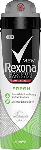 Rexona Men Deospray Maximum Protection Fresh Anti-Transpirant, 3er Pack (3 x 150 ml)