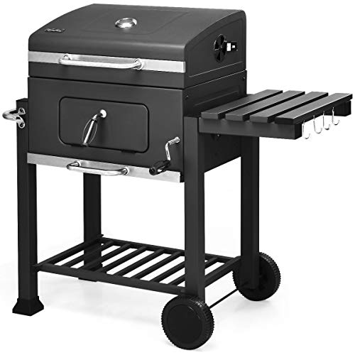 Giantex Charcoal Grill BBQ Grill Portable Barbecue Grill Outdoor Picnic Backyard Cooking...