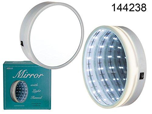 ootb Kunststoff-Spiegel mit Lichttunnel, 20x5cm