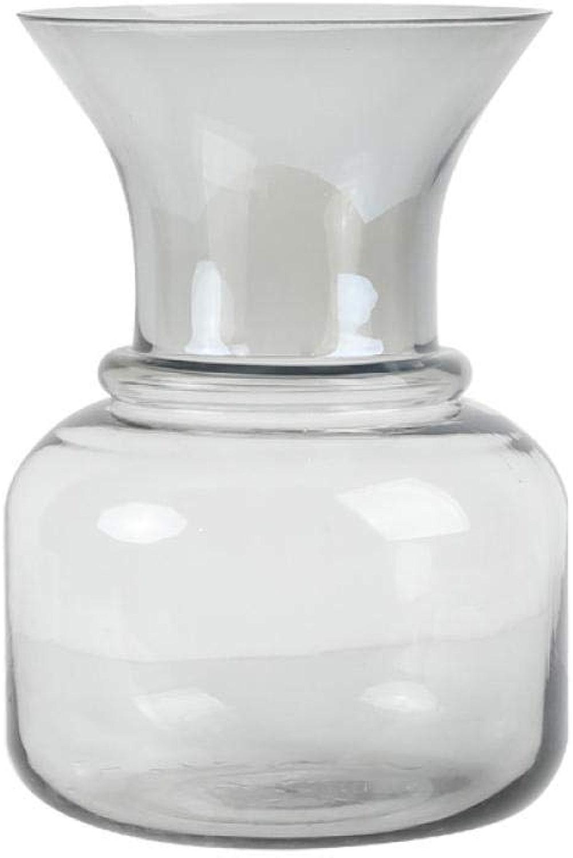 Vases Vase Créatif Couleur Hydroponique en Verre Transparent ArrangeHommest De Fleurs Fleurs Séchées Décoration Simple Salon B
