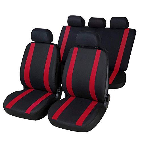 onkar Fundas compatibles con Stelvio versión (2016 – en adelante) compatibles con asientos con airbag, reposabrazos lateral, asientos traseros separables K72S0019