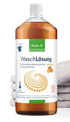 Alvito WaschLösung 100 ml Typ Orange 10er-Pack ökologisches Waschmittel