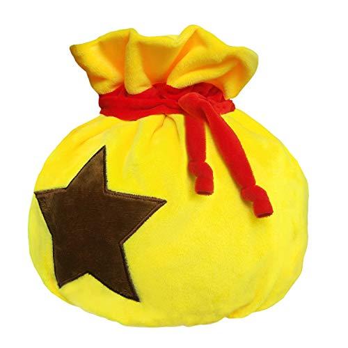 Animal Bells Bag Drawstring Plush Travel Makeup Cosmetic Storage Bags Organizer (Bells Bag)