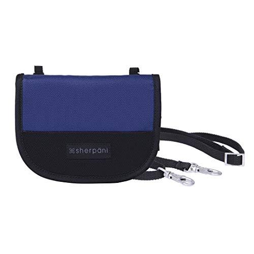 Sherpani Zoe, Recycled Nylon Wallet, Crossbody Wallet, Mini Crossbody Purse for Women, with RFID Protection (Atlantic)