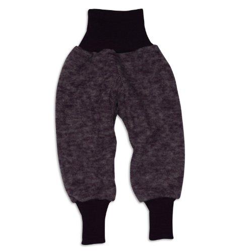 Cosilana Hose Woll-Fleece, Größe 86/92, Farbe Lila Melange - Vertrieb nur durch Wollbody®