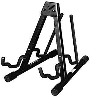 On-Stage GS7462DB Professional A-Frame Double Electric and Acoustic Guitar Stand