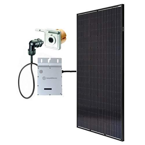 Minisolar Balkon Solar Mono Single 310 Watt inkl. Einspeissteckdose