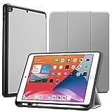 ESR Funda para iPad 8ª (2020)/7ª (2019) generación 10,2 Pulgadas con Soporte para el Pencil [Soporte Tríptico] [Modo Automático de Reposo/Actividad] Serie Rebound - Gris