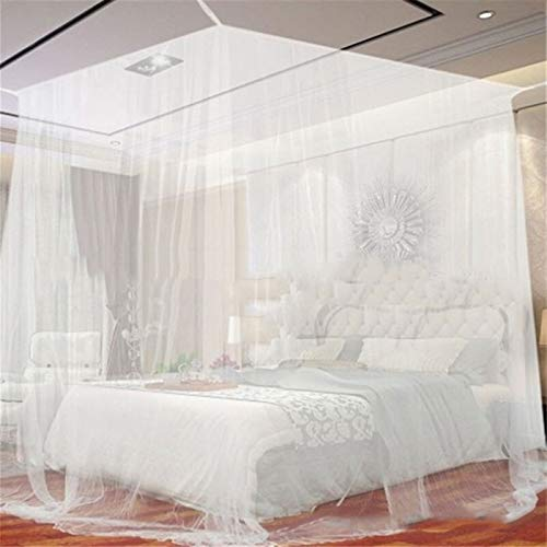 YZDKJ Bolsa de Almacenamiento al Aire Libre Interior de Mosquitos de Camping Blanco Bolsa de Almacenamiento al Aire Libre de la Bolsa de Insecto (Color : White, Size : 200x200x180cm)