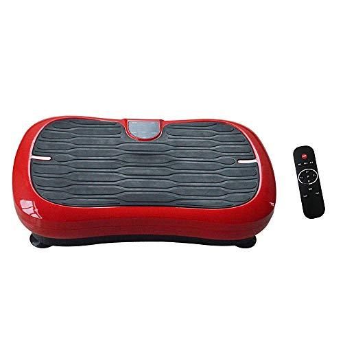 Topashe Plataforma Vibratoria de Fitness Motor,Máquina de Adelgazamiento por vibración, máquina de agitación Deportiva,Plataforma Vibratoria Fitness