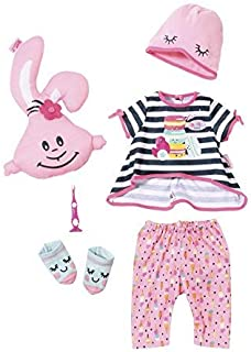 Baby Born 824627 Deluxe Sleepover Party Doll Outfit, 6 Pieces