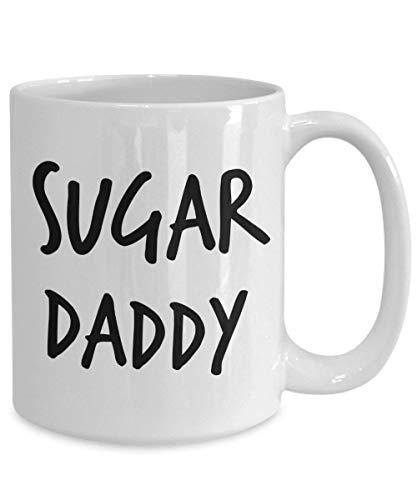 Lawenp Taza Sugar Daddy 11oz 15oz Regalo novedoso Taza de café Sugar Daddy Taza de café Sugar Daddy Taza Sugar Daddy Regalo Sugar Daddy 11 oz