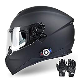 top 10 helmet bt inserts Integrated Motorcycle Helmet FreedConn Bluetooth, DOT BM12 Full Face Communication System …