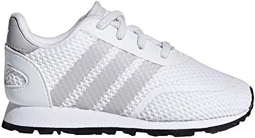 Adidas N-5923 El I, Zapatillas de Deporte Unisex niño, Blanco (Ftwbla/Gridos/Negbás 000), 25.5 EU