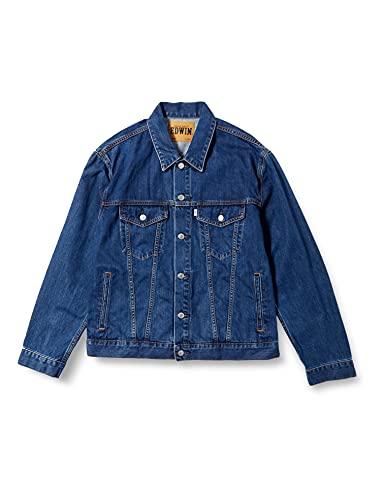 [エドウィン] デニムジャケット ET1087 メンズ 中色ブルー L
