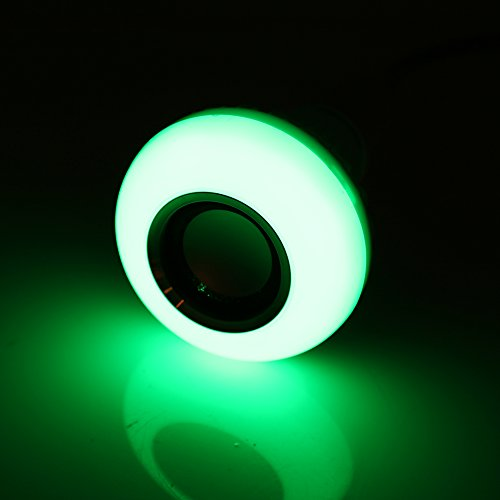 Aoutecen Fácil de Instalar Bombilla LED RGB Bluetooth, Bombilla de música LED, lámpara de música LED, para Armario de Dormitorio