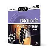 D'Addario EXP13 Set Corde Acustica EXP CTD 80/20, Bronzo