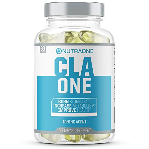 CLAOne Weight Management Supplement from NutraOne Nutrition — Conjugated Linoleic Acid (CLA) Natural Diet Aid* (90 Capsules)