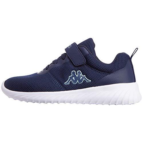 Kappa CES Kids Sneaker, Blau (Navy/Mint 6737), 33 EU
