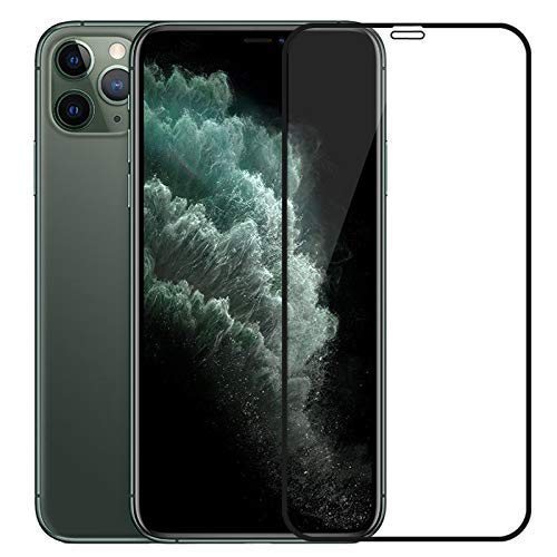 Zarala Screen Guard For Apple iPhone 12 pro Tempered Glass 6D Full Glue Cover Edge-Edge Anti-Scratch Anti-Fingerprint Tempered Glass for Apple iPhone 12 pro