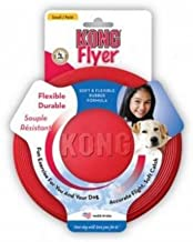 Kong Rubber Flyer,Large 2 Pack, Red