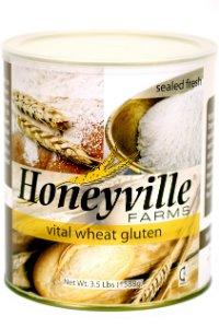 Honeyville Vital Wheat Gluten - High in Protein, Vegan, Non GMO, Keto Friendly, Low Carb (4 LB)
