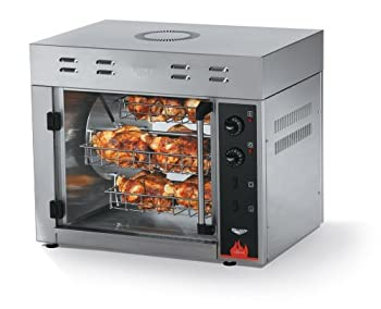 Vollrath 40704 Rotisserie Oven Counter Top Electric  8  3