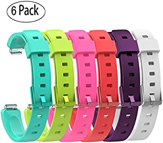 FitTurn Band Compatible with Fitbit ACE 2 Bands Kids, Replacement Accessory Soft Silicone Band 4.5''-7'' Size for ACE 2 Ki...