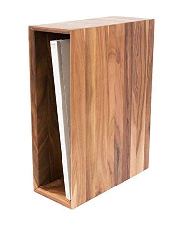 本立て A4 ファイルボックス 北欧 おしゃれ 木製 アーカイブボックス 天然木 無垢 オーク ナラ材 書類立て ブックスタンド 縦置き 横置き ナチュラルウッド 整頓 収納ケース 卓上