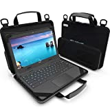 UZBL 13-14' inch Work-in Chromebook Laptop Case with Pouch and Shoulder Strap