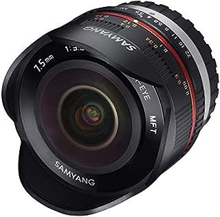 Samyang 7.5mm F3.5 UMC Fish-eye MFT für Micro Four Third, Schwarz (B005ZJ340E)   Amazon price tracker / tracking, Amazon price history charts, Amazon price watches, Amazon price drop alerts
