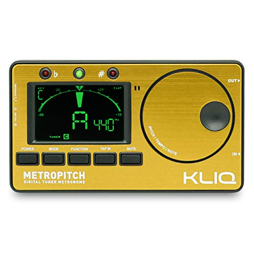 KLIQ MetroPitch - Metronome Tuner for All Instruments - with Guitar,...