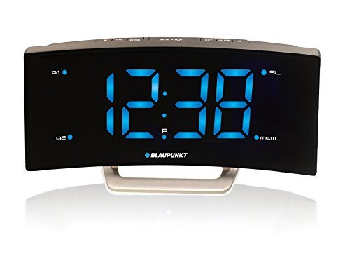 Blaupunkt CR7BK Uhrenradio mit LED-Display schwarz