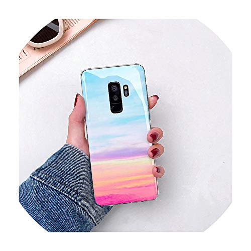 Marble Phone Case for Samsung Galaxy S9 S8 Plus S10 Lite S7 Edge Note 9 8 Cases Ultra Thin TPU Cases Smooth Cover Coque,for Samsung Note 8,4